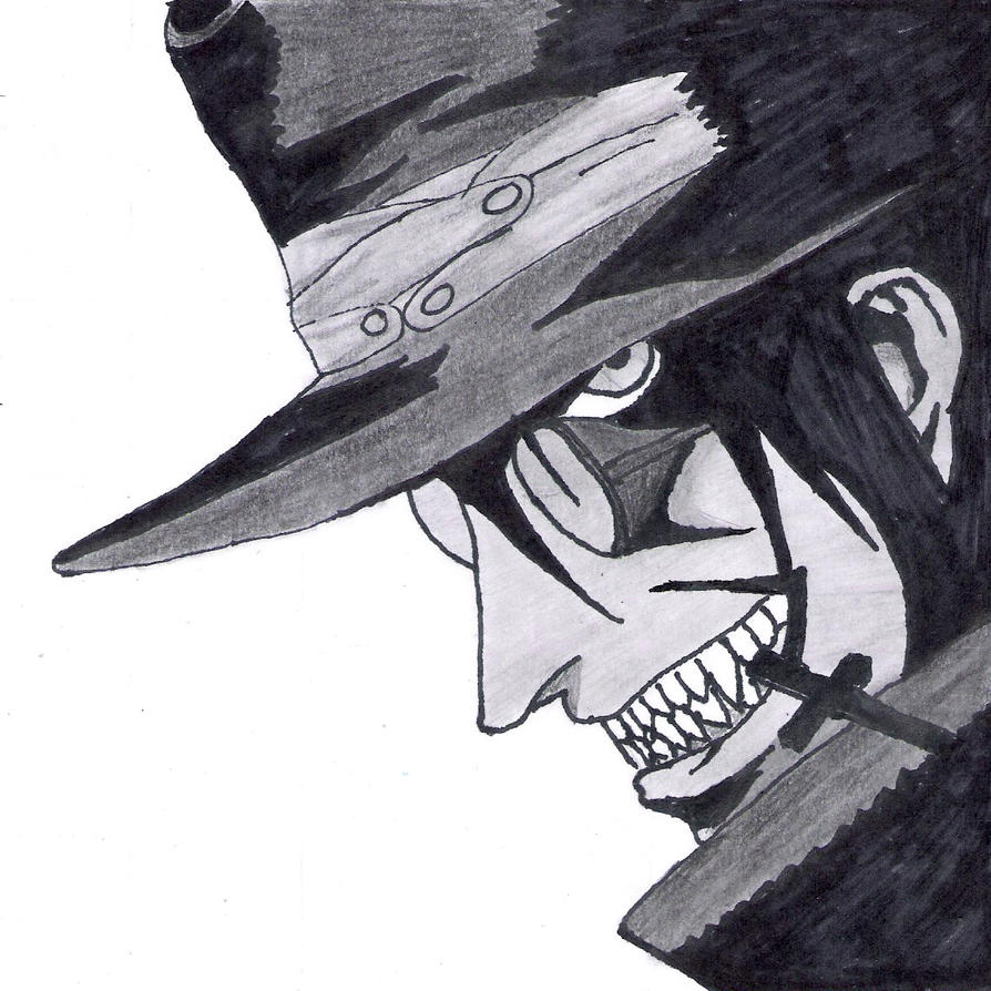 How To Draw Alucard From Hellsing Step 6 Apps Directories