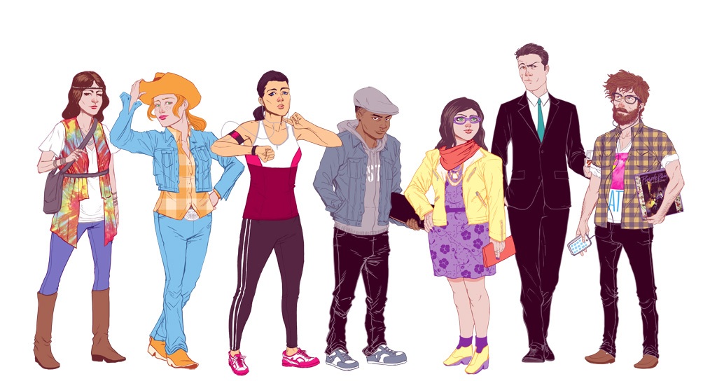 Fashion types by arosenlund on deviantart Different fashion style groups