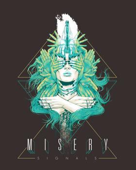 Misery Signals Merch Design