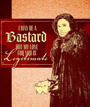 Game of Thrones Valentine - Jon Snow