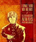 Game of Thrones Valentine - Tyrion Lannister