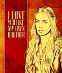 Game of Thrones Valentine - Cersei Lannister