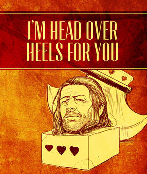 Game of Thrones Valentine - Ned Stark