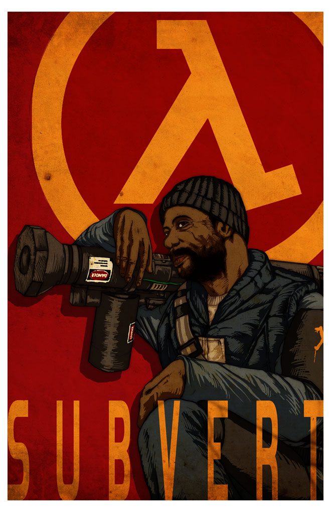 Half-Life 2: Rocketeer by arosenlund