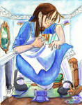 Alice in Rabbit's House