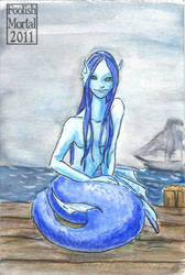 Mermaid Blue by lissa-quon