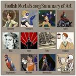 2013 Summary 0f Art