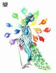 Gentleman Peacock