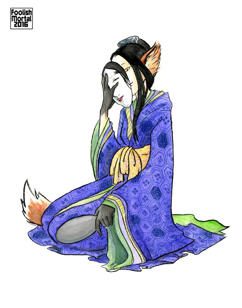 Kitsune by lissa-quon