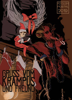 Krampus and His Friend