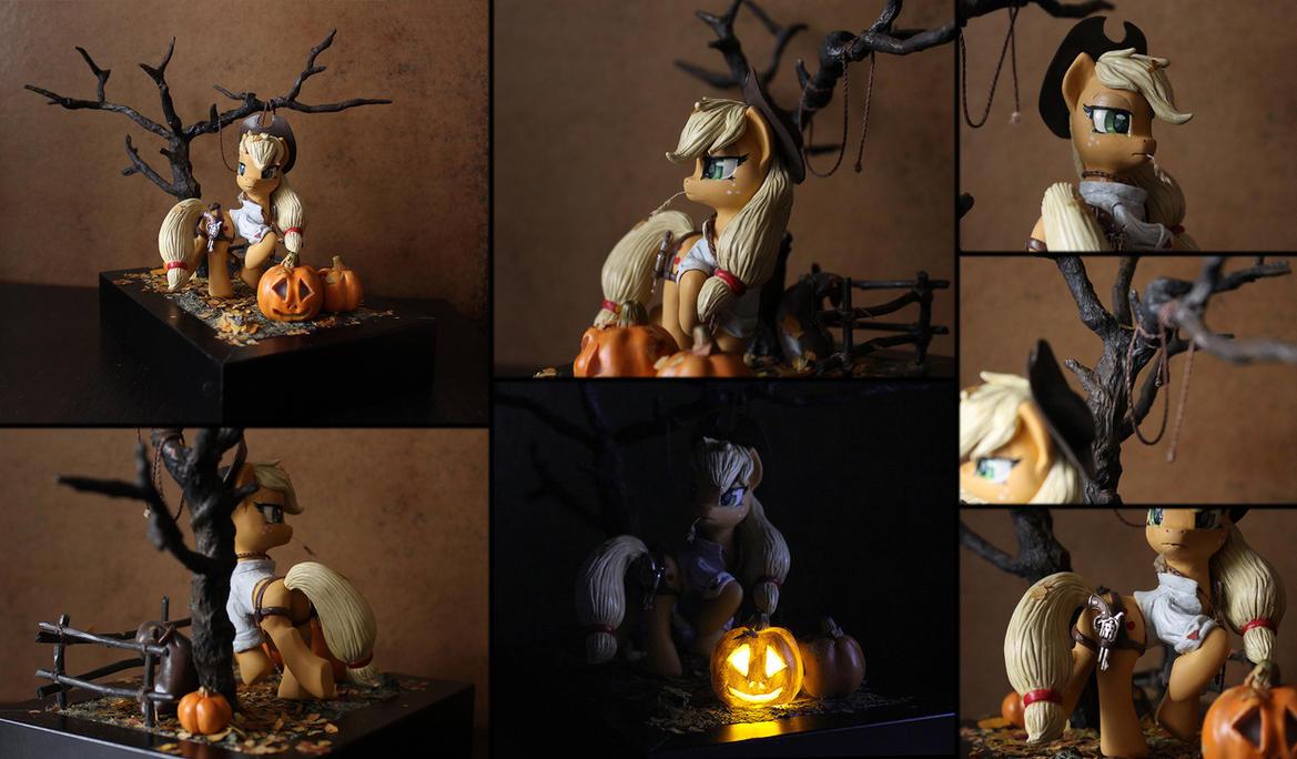Nightmare Night Applejack by AlisteRosenheim