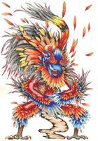 Eagle priest by Deepseaweed