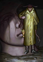 Avatar of the King in Yellow, Hastur by Deepseaweed
