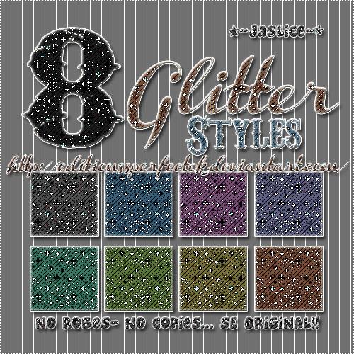 8 Glitter Styles+ by EditionssPerfectOk