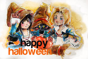 Happy Halloween 'with Vivi' by JesterHikaru