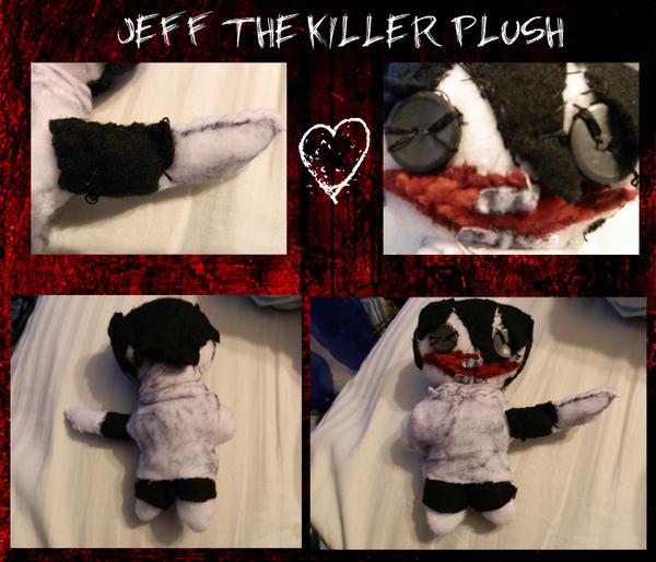 Jeff The Killer Plushy by TwinkletoesKat
