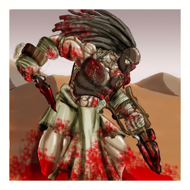 Dark Sun Gladiator By Roadkillblues