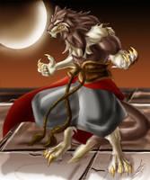 Moon Warrior by roadkillblues