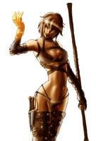 Cassia the sorceress