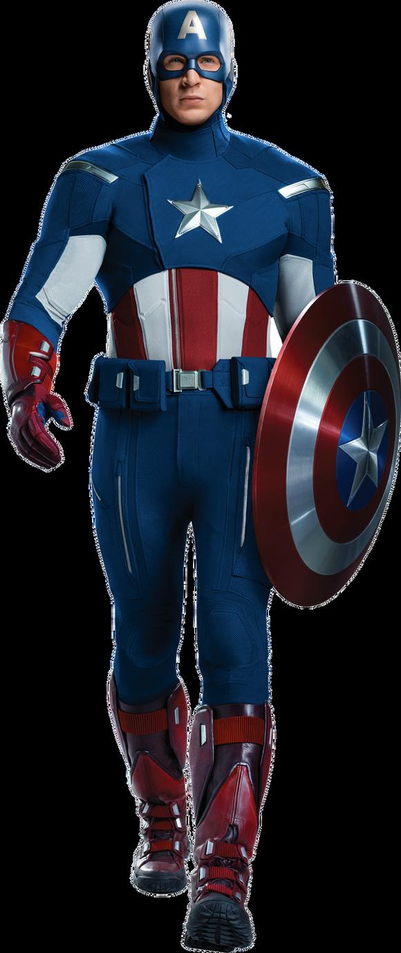 Captain America (Avengers 1) Transparent by ...