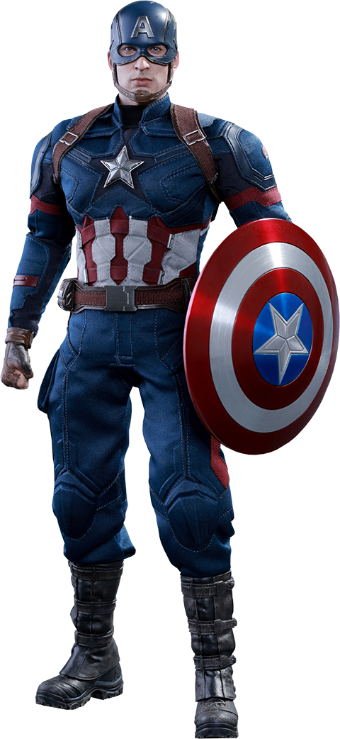 Captain America Civil War Transparent by DavidBksAndrade on