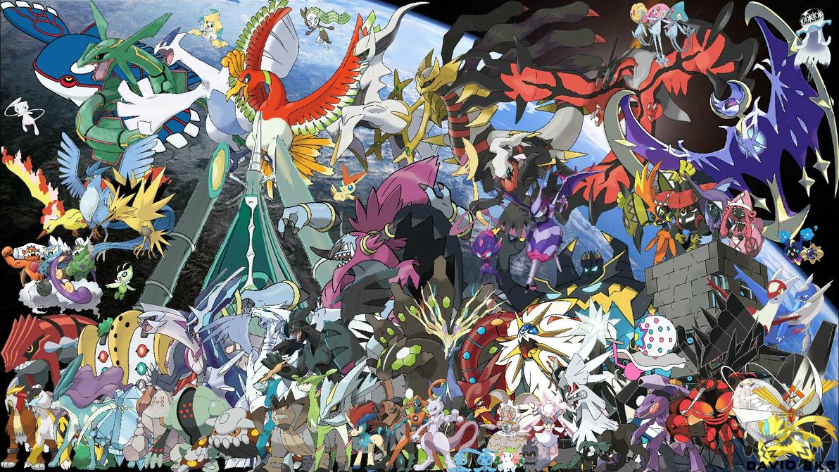 All legendary pokemon todos lospokemon legendarios by - All legendary pokemon background ...