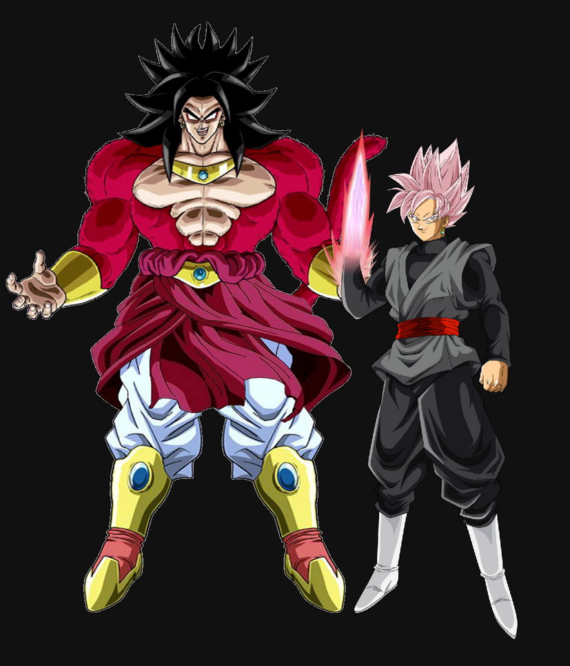 Broly And Black Goku By DavidBksAndrade On DeviantArt