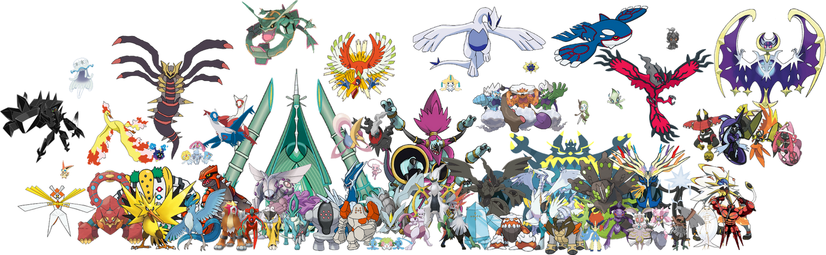 All Legendary Pokemon Names And Pictures