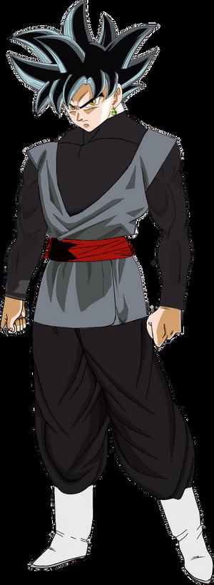 Black Goku Ultra Instinct PNG