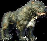 Hulk (2003) - Gamma Dog Smokey PNG