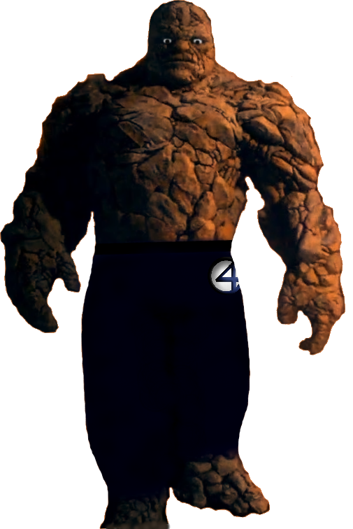 Marvel Fantastic Four (2015) - Thing PNG by ...