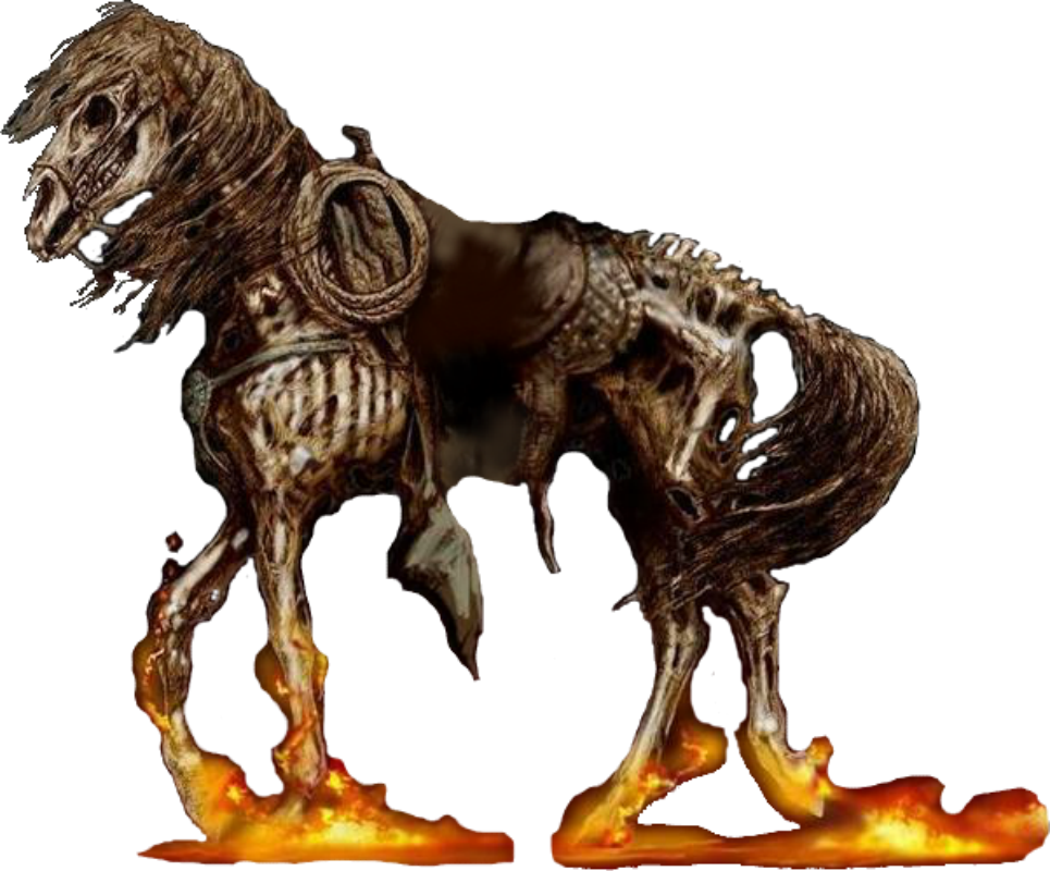 Ghost Rider (2007) - Western Horse PNG by DavidBksAndrade on