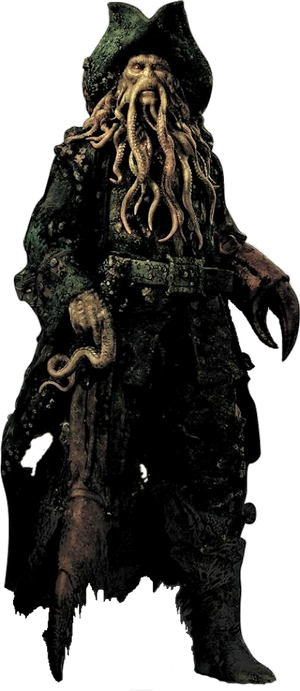 Pirates of the Caribbean - Davy Jones PNG