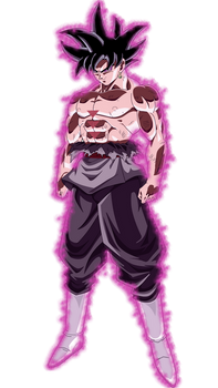 Goku Black Hakai Power God of Destruction