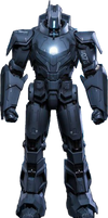 Iron Man 2 - Hammer Drone Air Force PNG by DavidBksAndrade