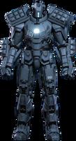 Iron Man 2 - Hammer Drone Navy PNG by DavidBksAndrade