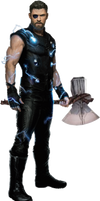 Avengers Infinity War - Thor PNG
