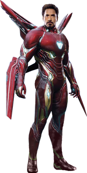 Avengers Infinity War - Iron Man PNG by DavidBksAndrade