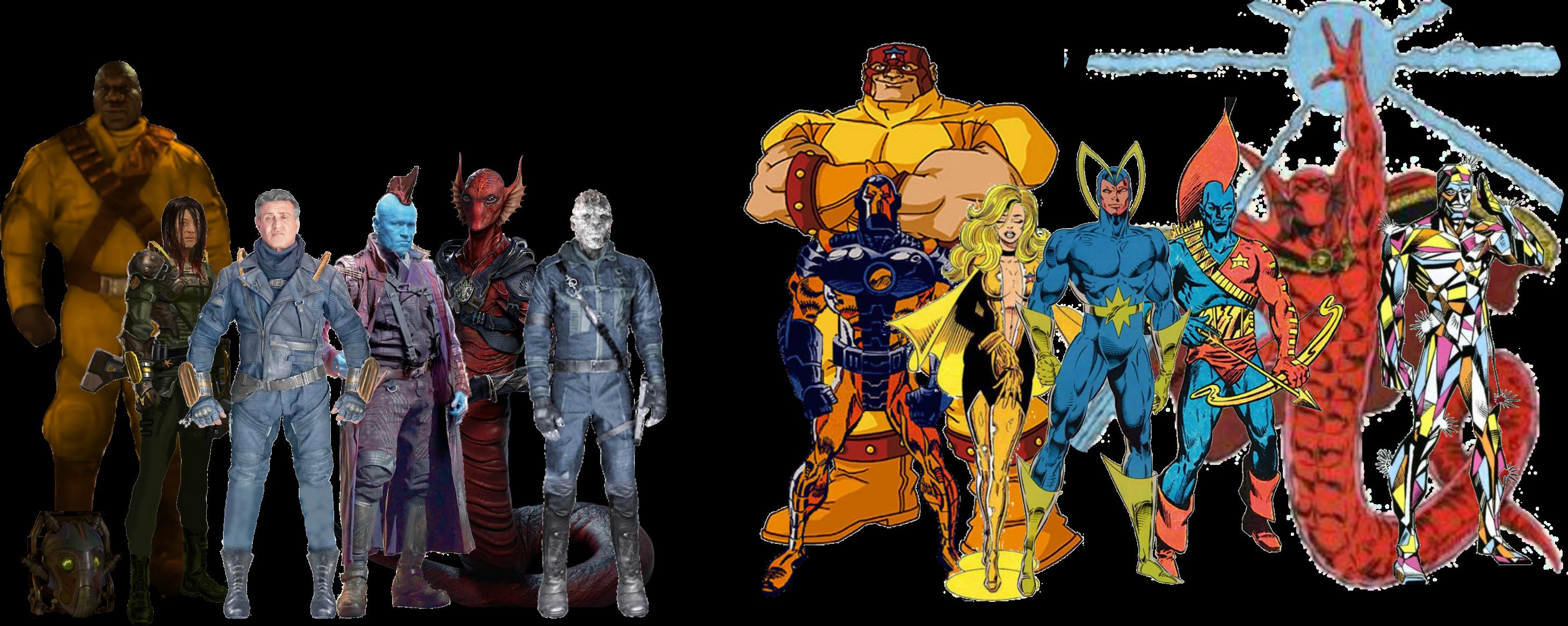 Marvel Classic Guardians Of The Galaxy Movie Comic By Davidbksandrade On Deviantart