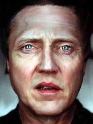 Christopher Walken by BigFrikkenBen