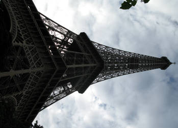Looking Up At the Eiffel