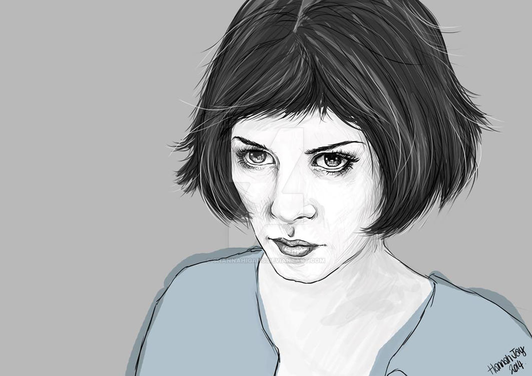 Amelie - Audrey Tautou by Shannahigans