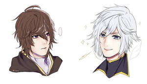 sandalphon and lucio by FikaM05