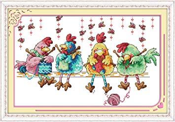 Knitting Hens