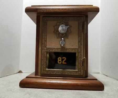 Antique Corbin Office Door Mail Box One