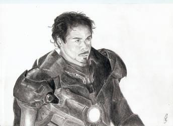 Iron Man by THANITH-CS