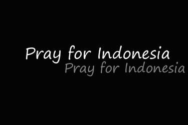 pray for Indonesia by soulfullcheerfull
