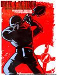 Soldier Propaganda Poster