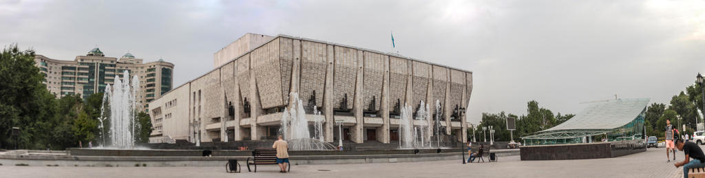 Mukhtar Auezov Theatre.Almaty by sarikreal