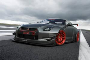 Nissan GTR by JoshCloud